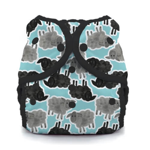 thiristies duo wrap diaper cover - Hoot