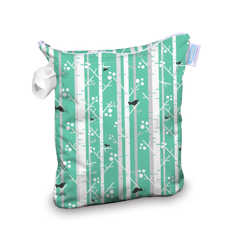 Thirsties wet bag - Aspen Grove