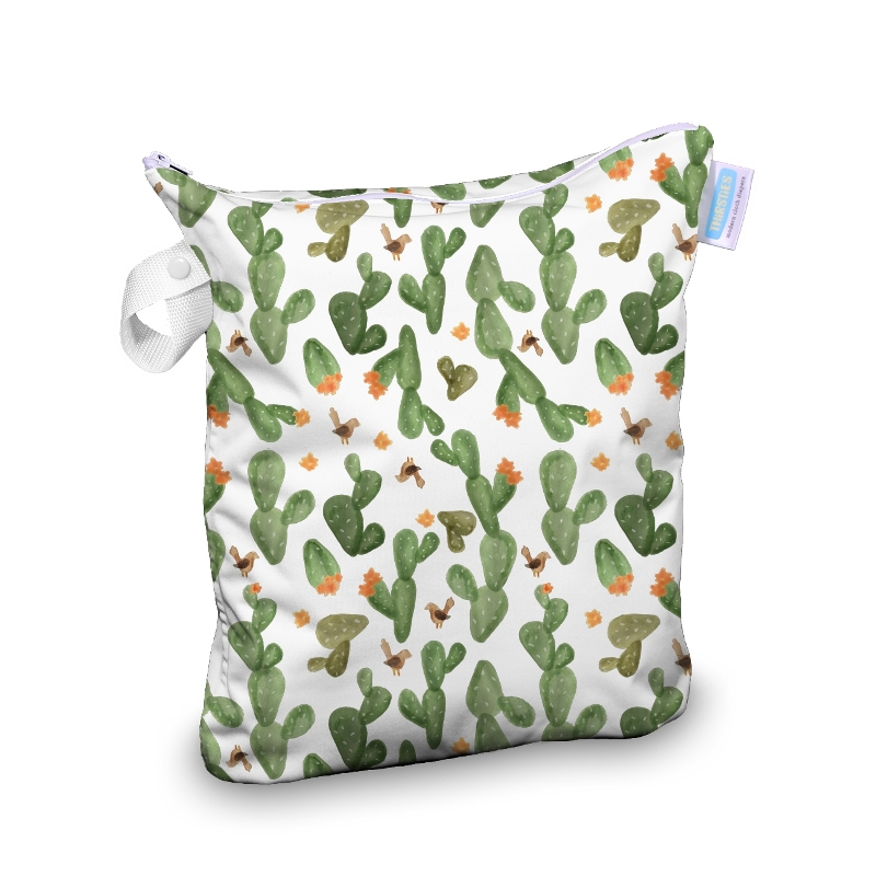 Thirsties wet bag - Cactus Garden