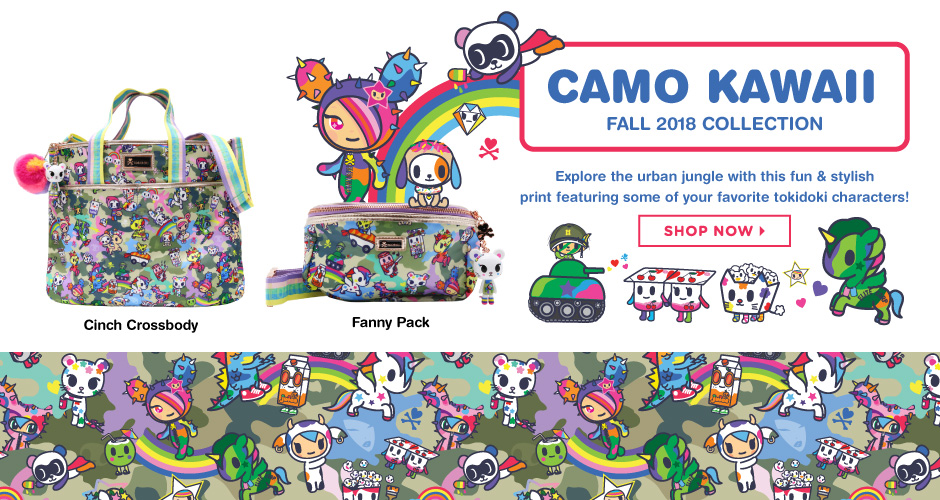 tokidoki camo kawaii collection