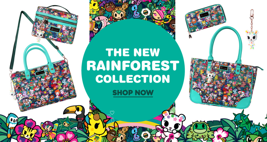 tokidoki rainforest collection