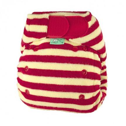 tots bots easy fit cloth diaper - Berry
