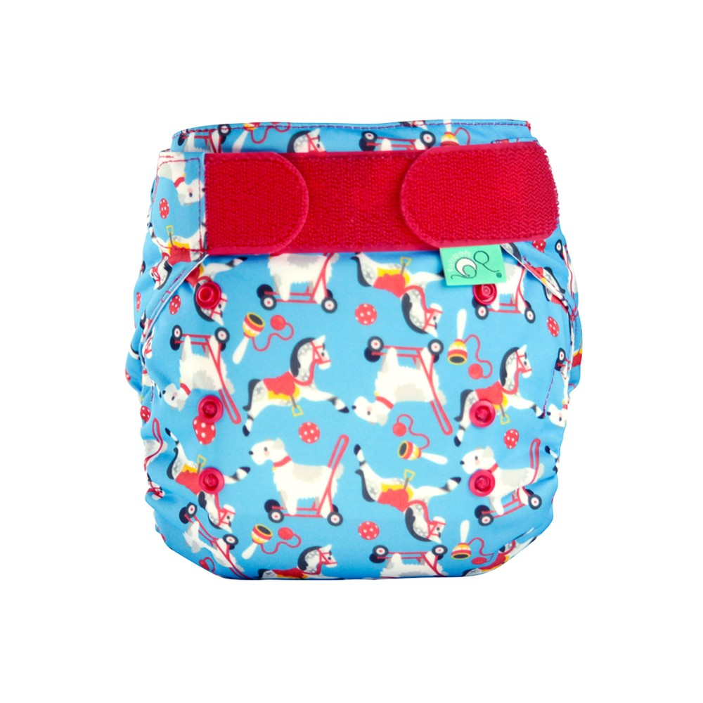 tots bots easy fit cloth diaper - pippin