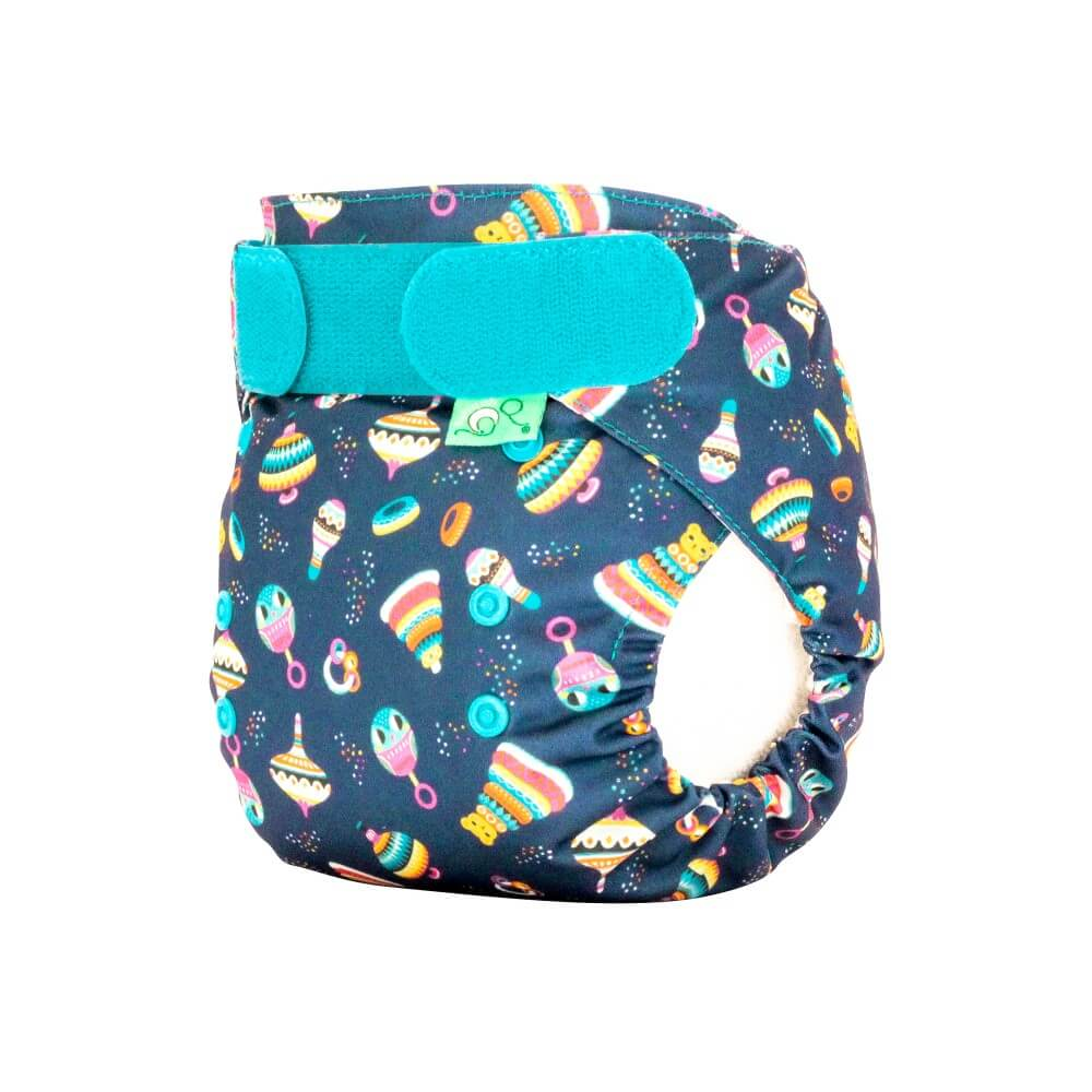 tots bots easy fit cloth diaper -  Rattle & Roll