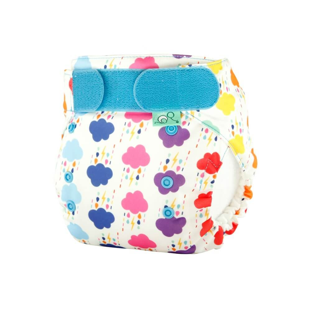 tots bots easy fit cloth diaper - Rumble