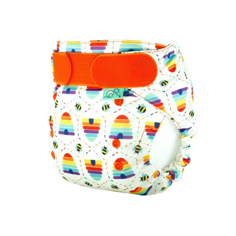 tots bots easy fit cloth diaper - Bee Kind