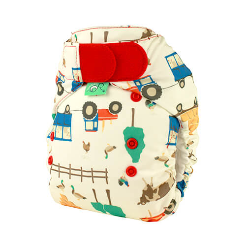 tots bots easy fit cloth diaper -  Farmer Joules
