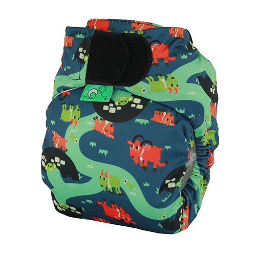 tots bots easy fit cloth diaper -  Billy Goats Gruff