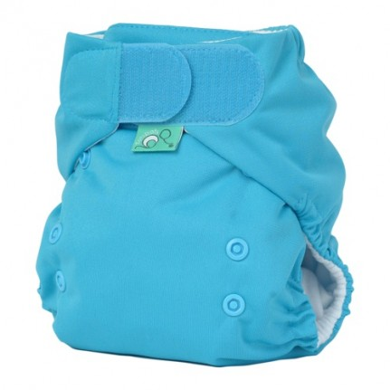tots bots easy fit cloth diaper - chocolate