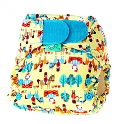 tots bots easy fit cloth diaper -  Humpty Dumpty