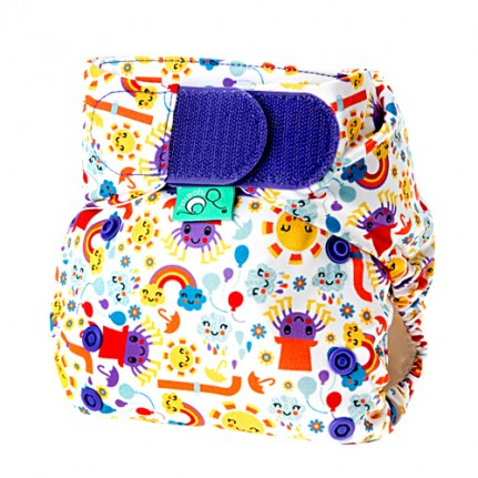 tots bots easy fit cloth diaper -  Incy Wincy Spider