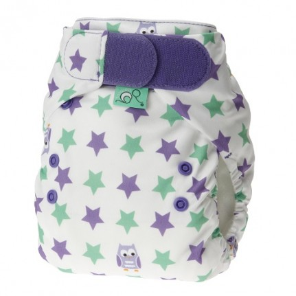 tots bots easy fit cloth diaper -  Night Owl