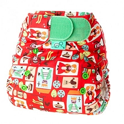 tots bots easy fit cloth diaper - Sixpence