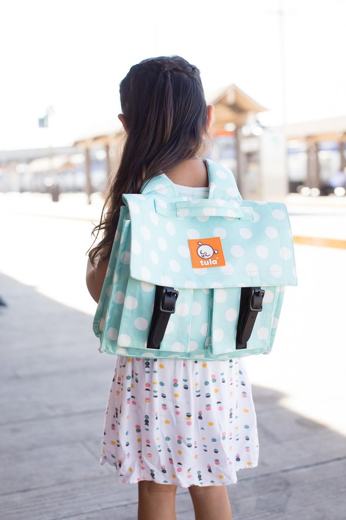 c14a47cfcd8b Tula Kids Backpack - Mint Candy Dots