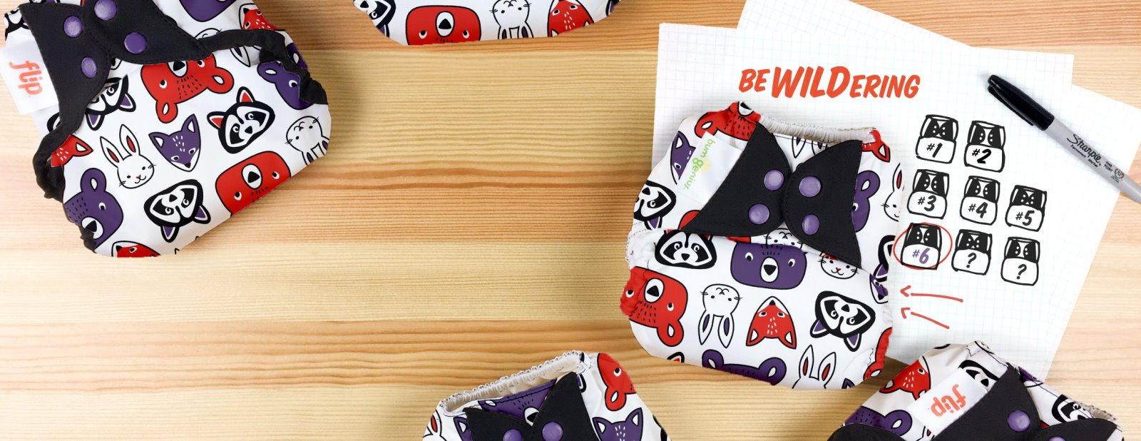 bumgenius doodles collection diaper - bewildering