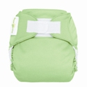 bumGenius 4.0 one size cloth diapers with hooks - grasshopper