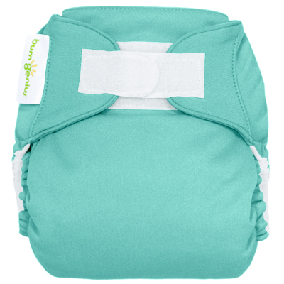 bumGenius 4.0 one size cloth diapers with hooks - mirror