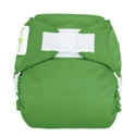 bumGenius 4.0 one size cloth diapers with hooks - ribbit