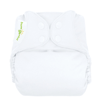 bumgenius freetime diaper - white