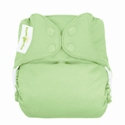 bumGenius 4.0 one size cloth diapers with snaps - grasshopper