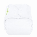 bumGenius 4.0 one size cloth diapers with snaps - white