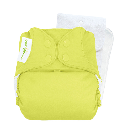 bumGenius 5.0 one size cloth diapers with snaps - Jolly