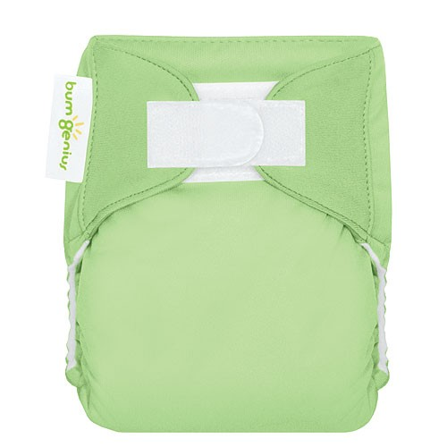 bumgenius 3.0 all in on cloth diaper - grasshopper