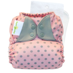 bumGenius 5.0 one size cloth diapers with snaps - ballet