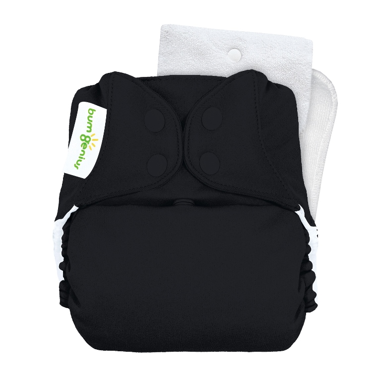 bumGenius 5.0 one size cloth diapers with snaps - Fearless
