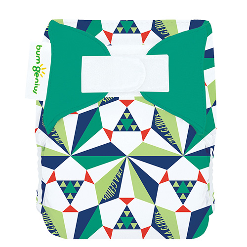 bumgenius 3.0 all in on cloth diaper - Sierpinski
