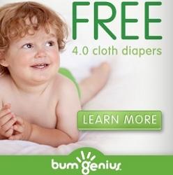 bumgenius sale - free 4.0 cloth diaper