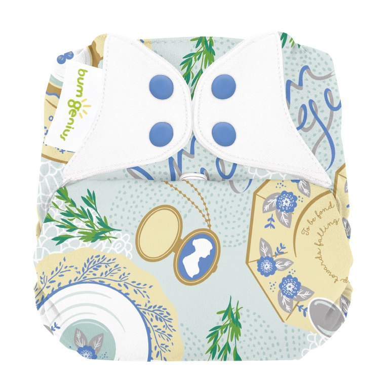 bumgenius organic one size diaper - Austen