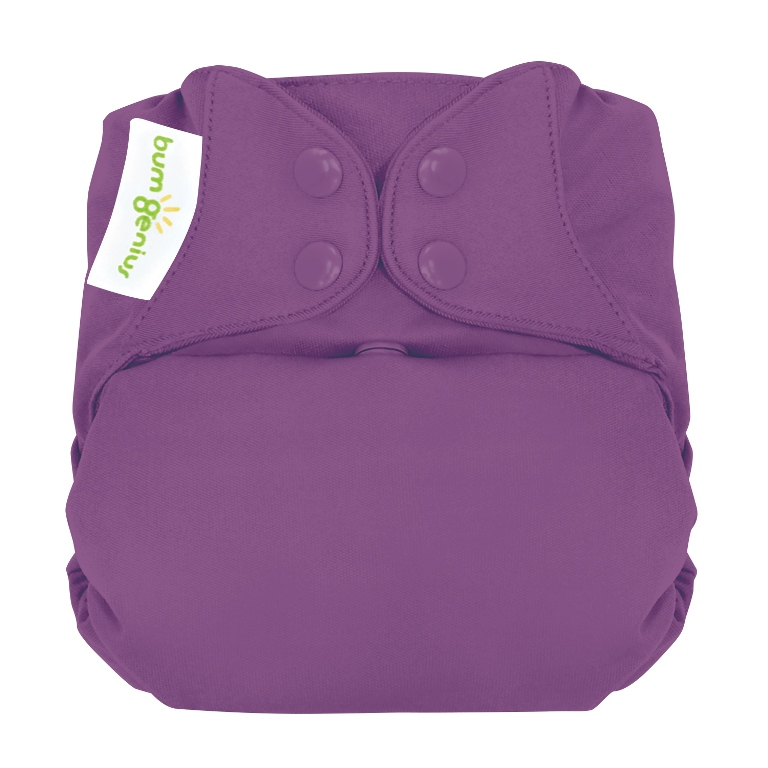 bumgenius organic one size diaper - Jelly