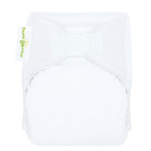 bumgenius 3.0 all in on cloth diaper - White