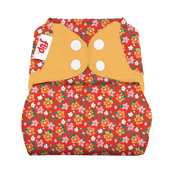flip diaper cover - prairieflowers