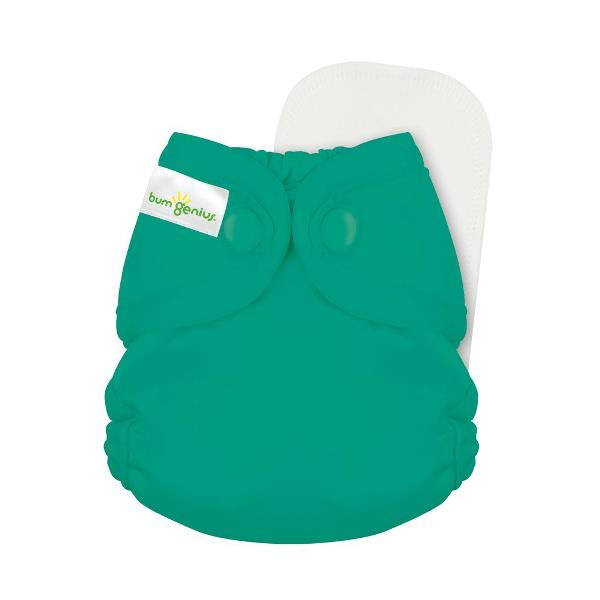bumgenius little 2.0 all in on cloth diaper - Hummingbird