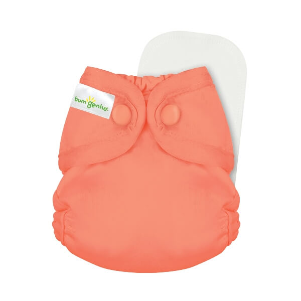 bumgenius little 2.0 all in on cloth diaper - Kiss
