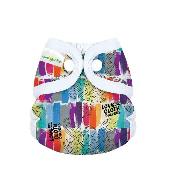 bumgenius little 2.0 all in on cloth diaper - Love