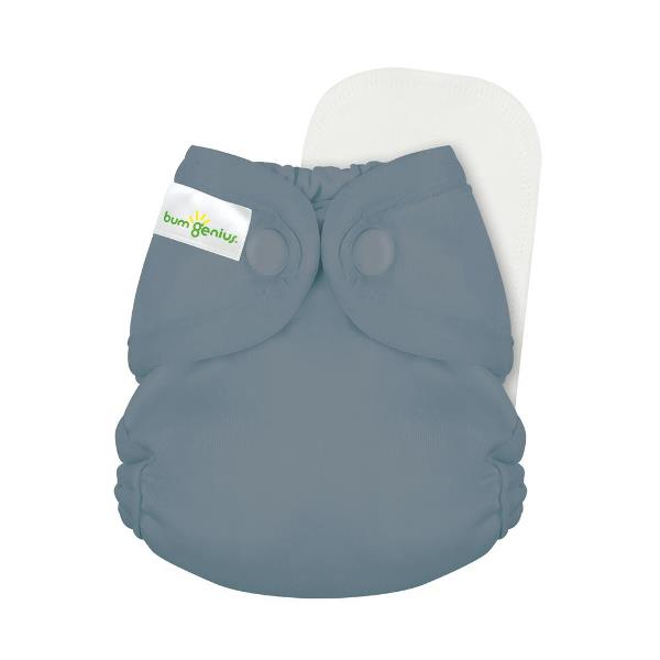 bumgenius little 2.0 all in on cloth diaper - armadillo