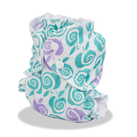 applecheeks envelop cloth diaper cover - steel me