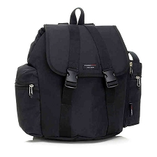 StorkSak Rucksack Backpack Diaper Bag - Black