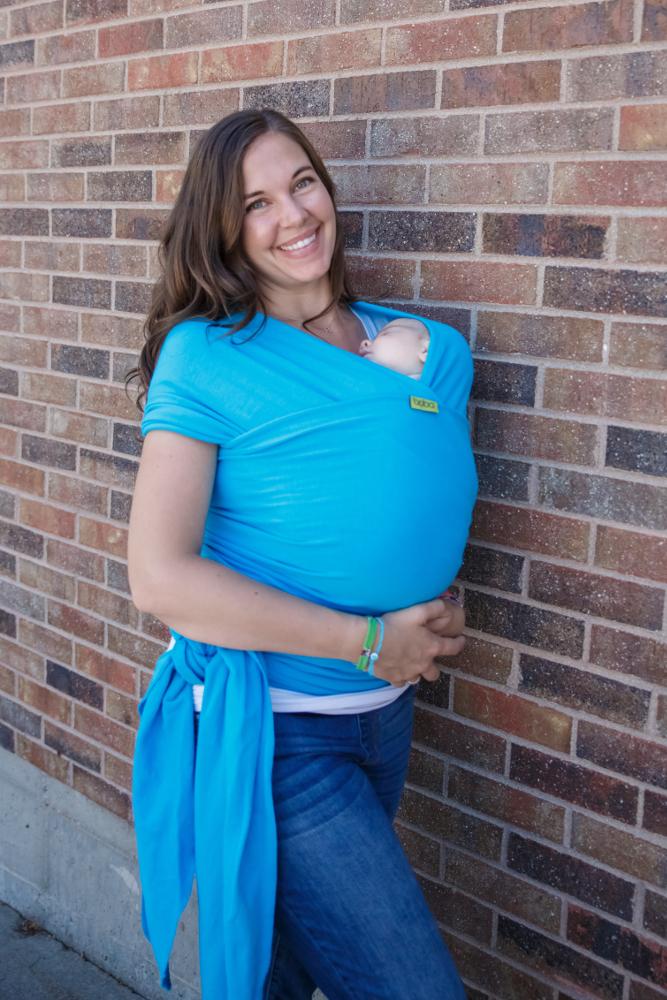 Boba Baby Wrap Turquoise
