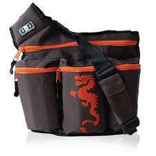 Diaper Dude Original Diaper Bag - Brown Dragon