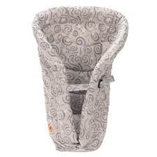 ERGObaby Original Infant Insert - Heart2Heart - Galaxy Grey