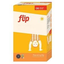 Flip Diaper Pack - 2 Covers, 6 Night Time Organic Inserts