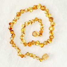 Healing Amber Baby Baltic Amber Teething Necklace - Liquid Gold
