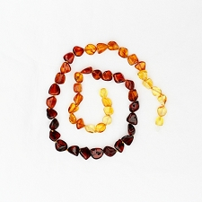 Healing Amber Baby Baltic Amber Teething Necklace - Rainbow Circle