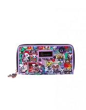 Tokidoki Long Wallet - Roma Collection