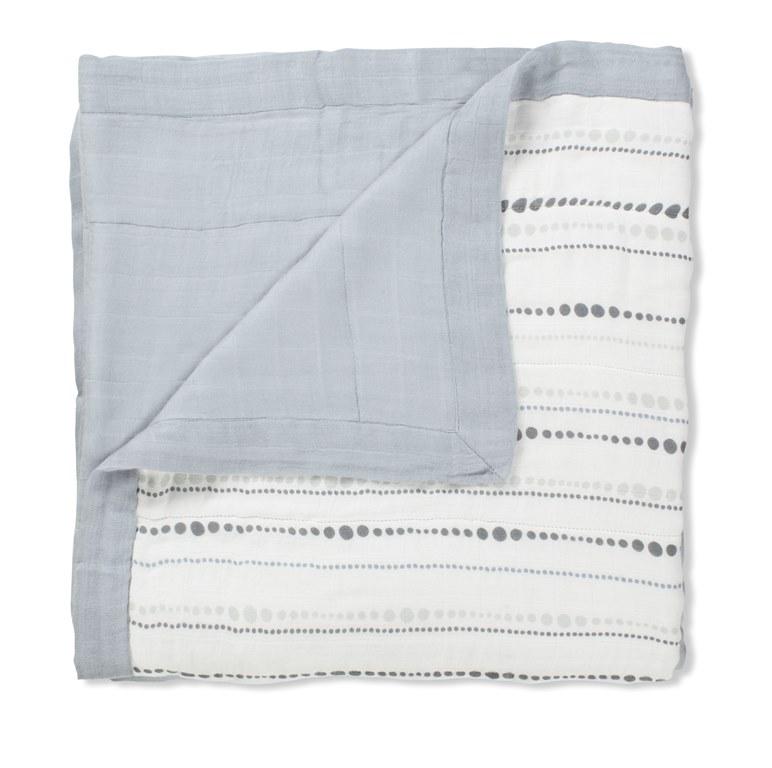 aden and anais organic dream blanket - moonlight beads