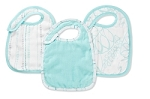Aden and Anais Bamboo Snap Bibs - 3 Pack